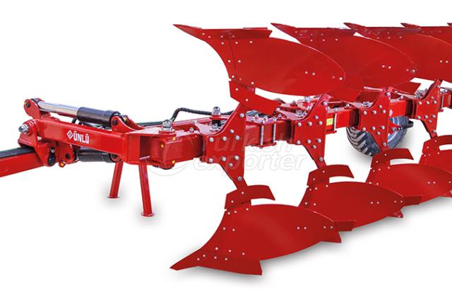 Towed Out Furrow Reversible Plough