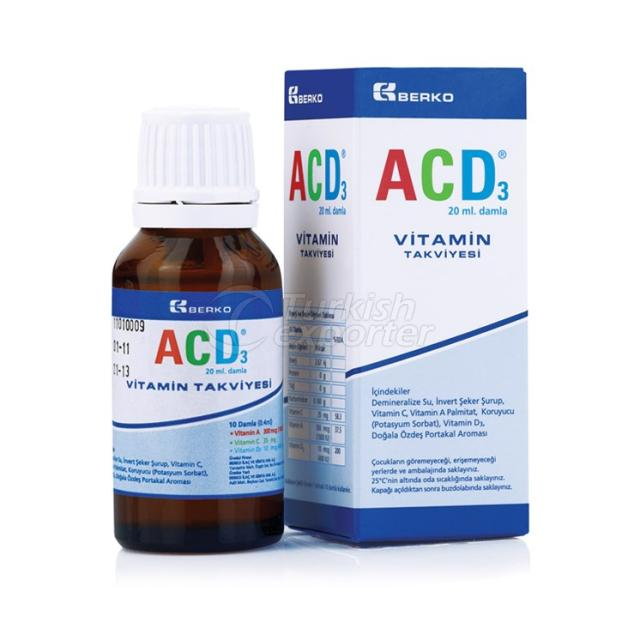 ACD Vitamine Supplement Drop
