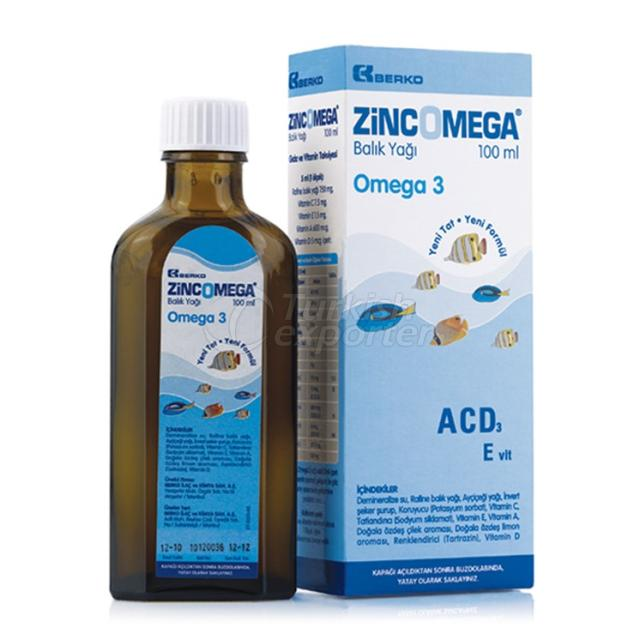 ZINCOMEGA Fish Oil Syrup