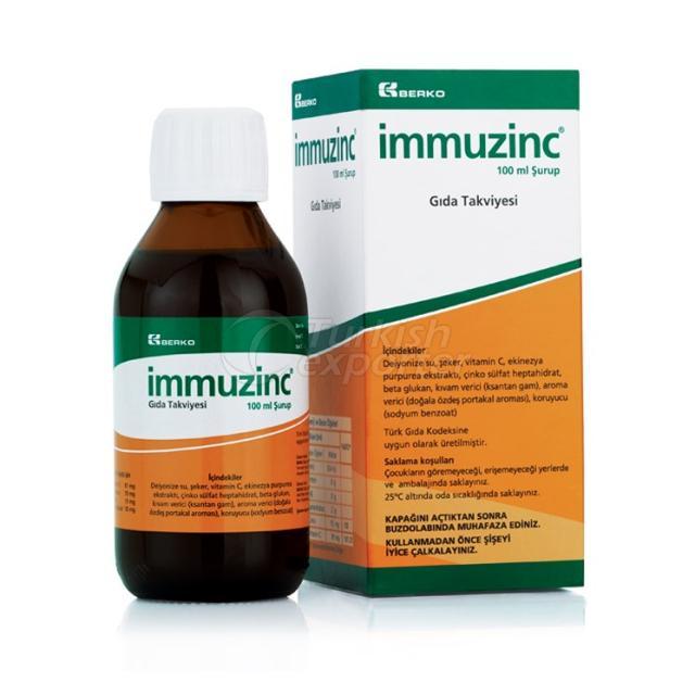 IMMUZINC 100 ml Syrup