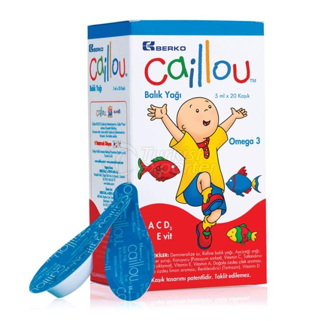 CAILLOU Spoon Fish Oil