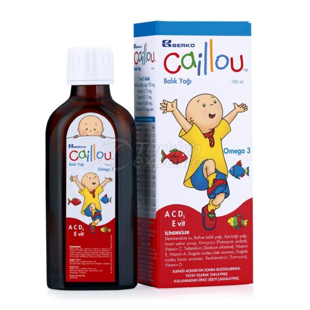 CAILLOU Fish Oil Syrup