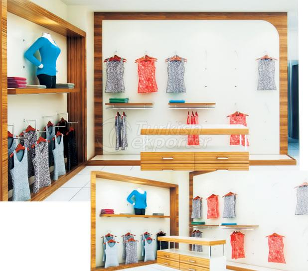 Textile Store Shelf Systems