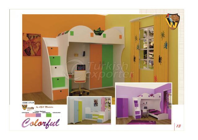 Woody modular COMFORT Teens Room