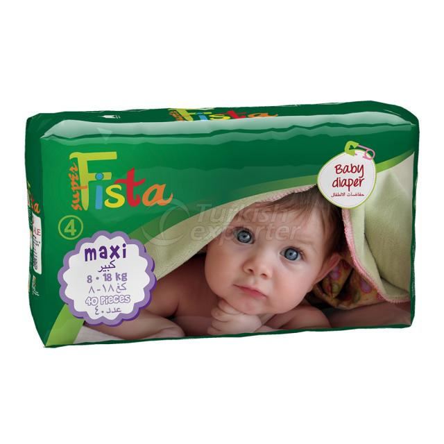 Baby Diaper 40 Ped 8-18 Kg