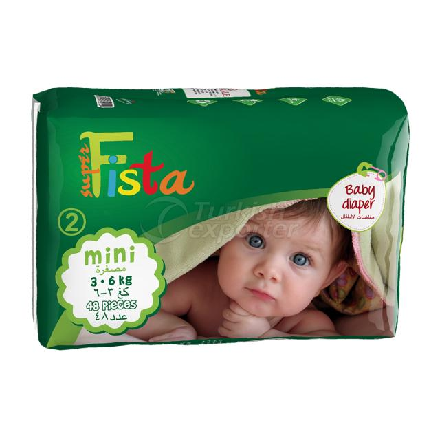 Baby Diaper 48 Ped 3-6 Kg