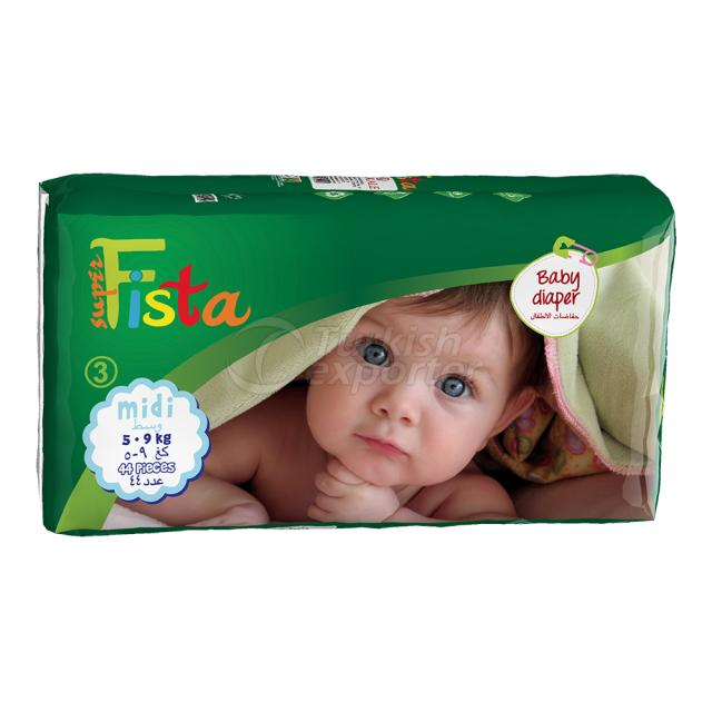 Baby Diaper 44 Ped 5-9 Kg