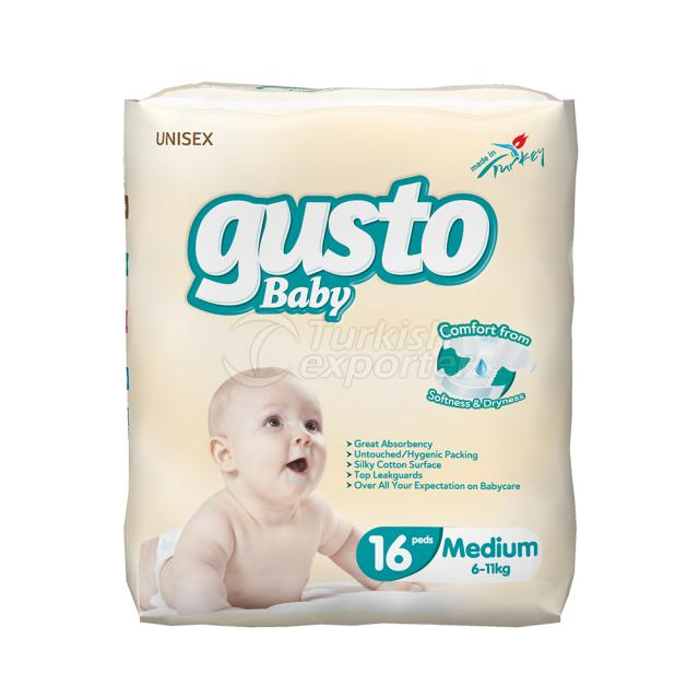 Baby Diaper 18 Ped 6-11 Kg