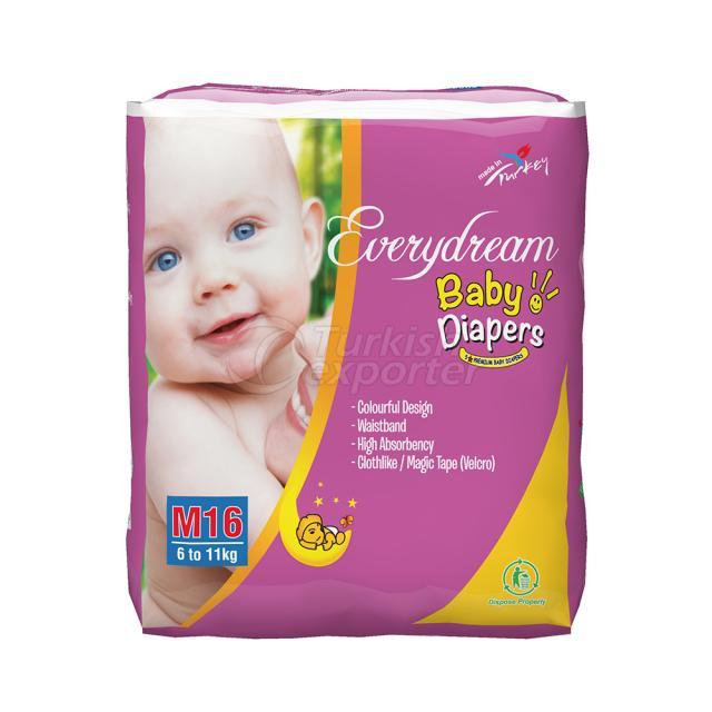 Baby Diaper 6-11 Kg