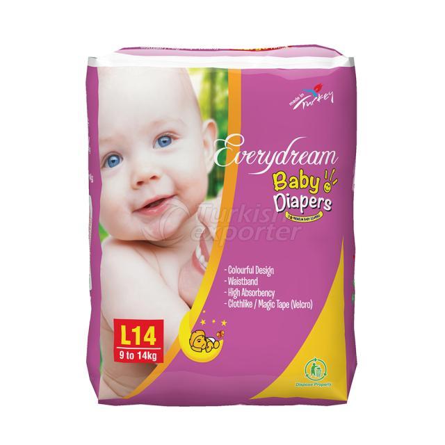 Baby Diaper 9-14 Kg