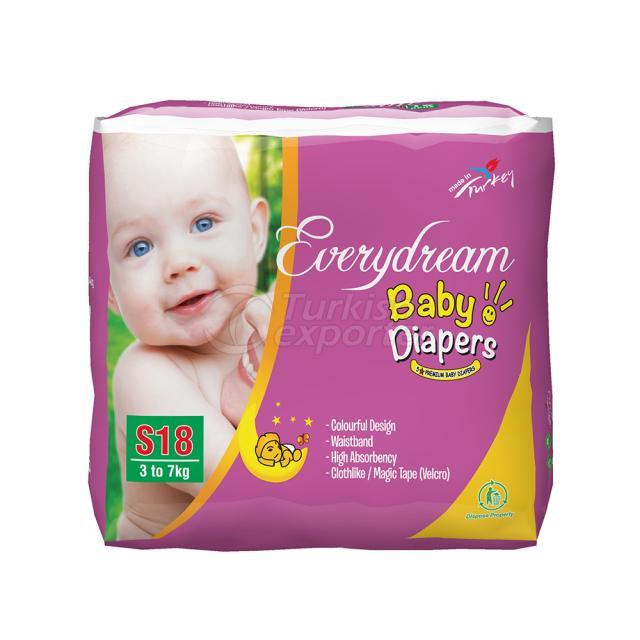 Baby Diaper 3-7 Kg