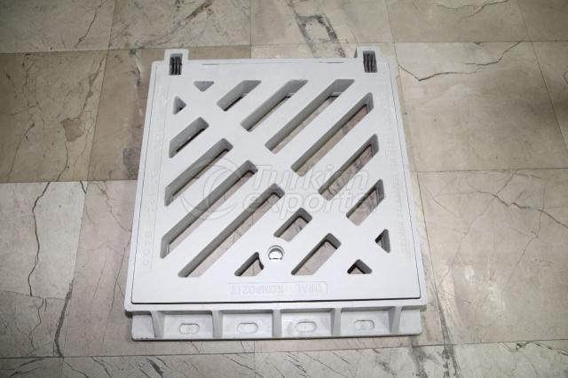 Gully Grating Set 57x57