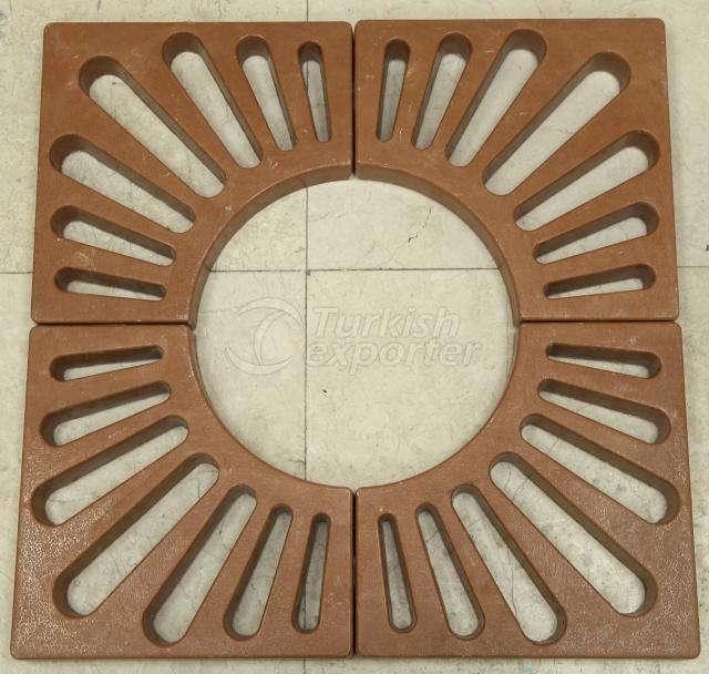 Tree Grates 60x60 - Four-piece