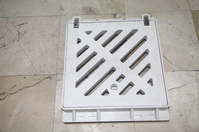 Gully Grating Set 49x49