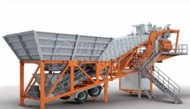 Mobile and Stationary Concrete Plants