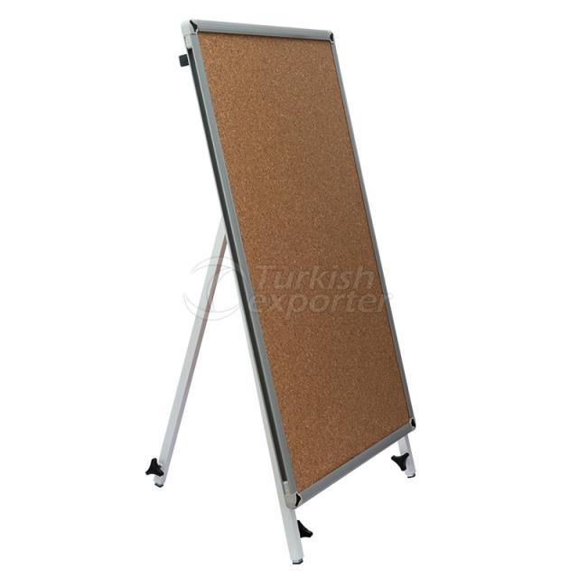 Telescopic Legged Corkboard