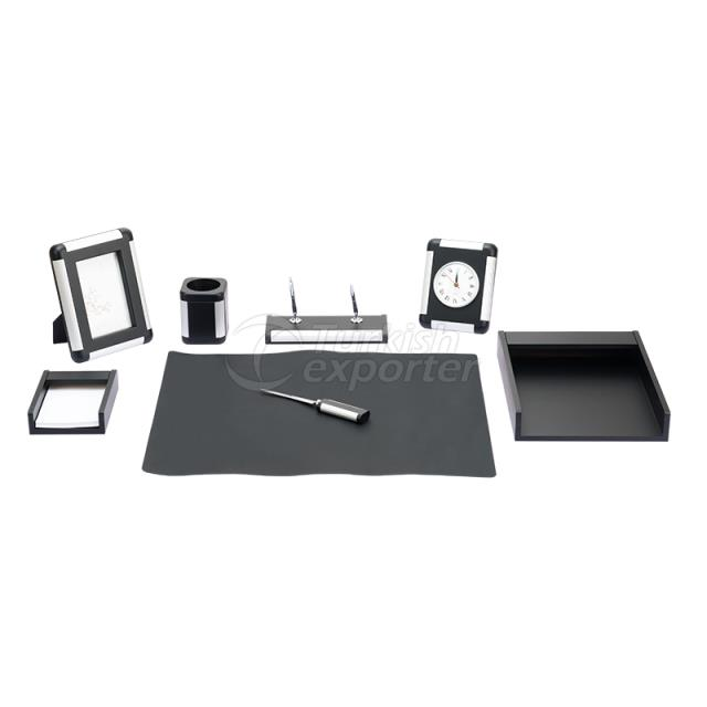 Wooden Aluminium Desk Pad Sets