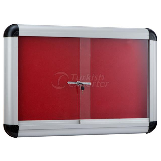 Metal Framed Fabric Coated Board