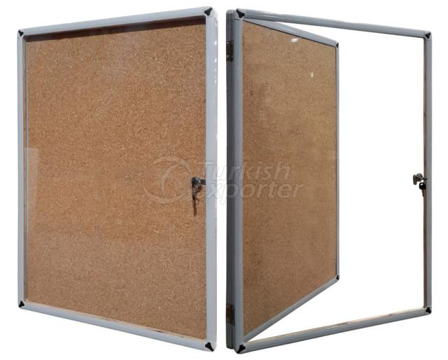 Thin Frame Corkboard