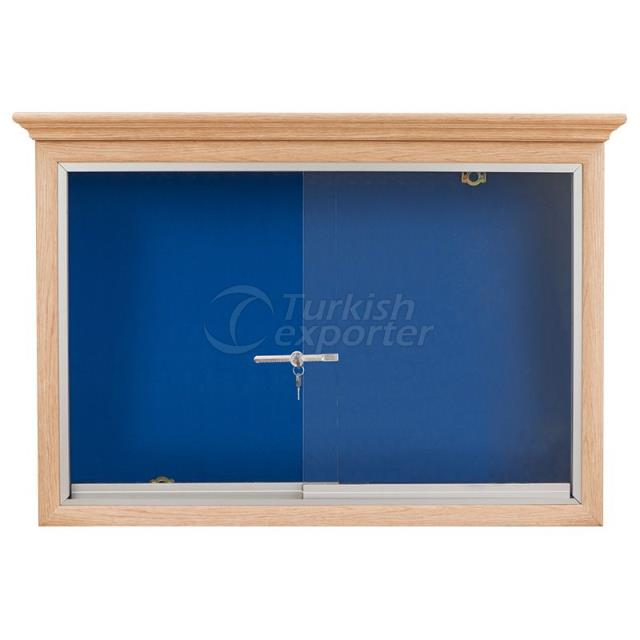 Wooden Framed Fabric Coated Board