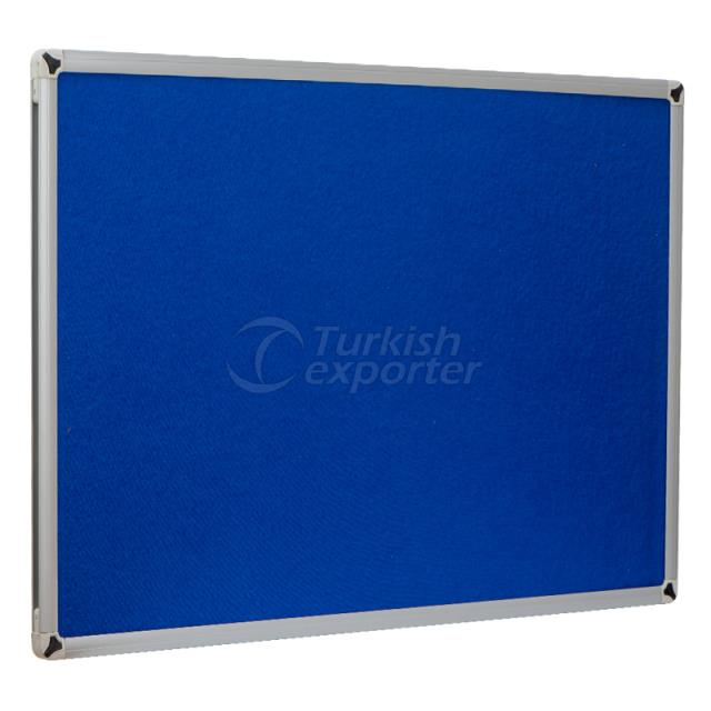 Wall Mounted Fabric Coated Board