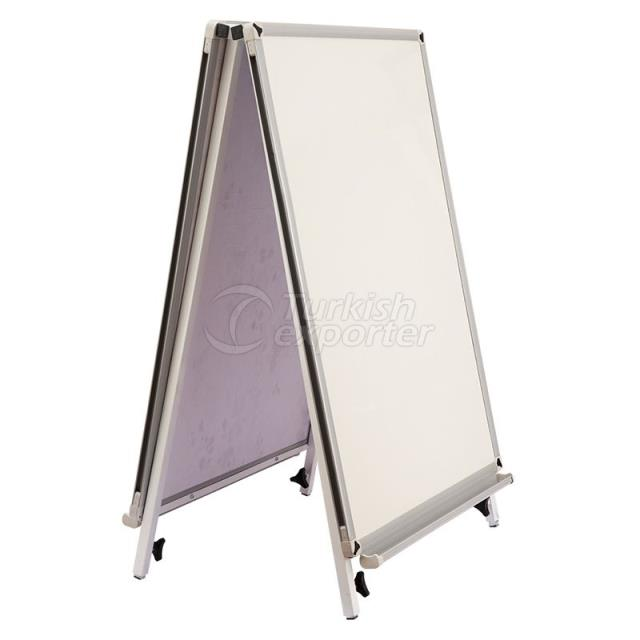 Triangle Laminated Whiteboard
