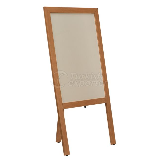 Wooden Legged Whiteboard