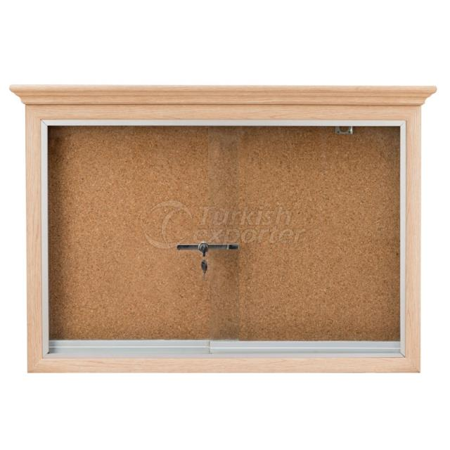 Wooden Framed Corkboard
