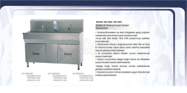 Doctor Hand Wash Sink