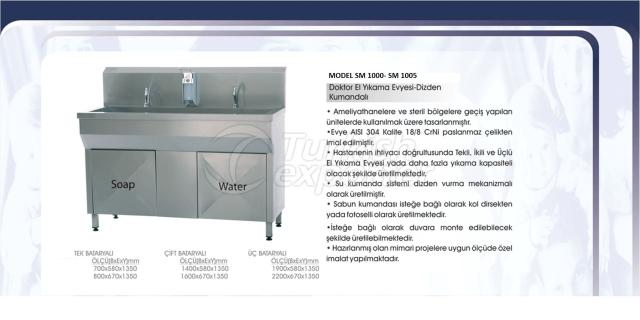 Doctor Hand Wash Sink