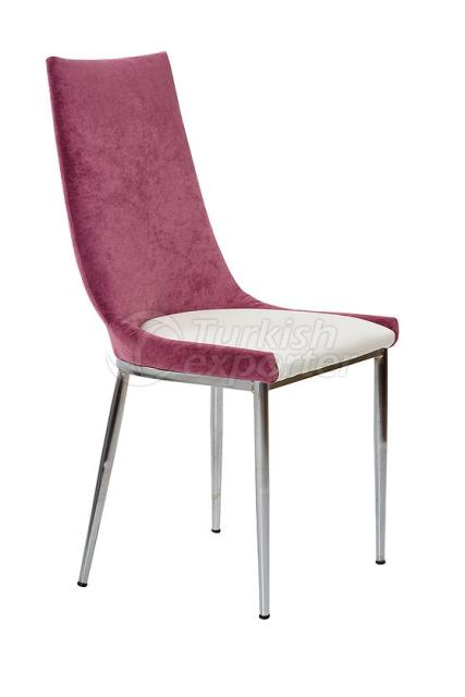 Single Chairs Damson White