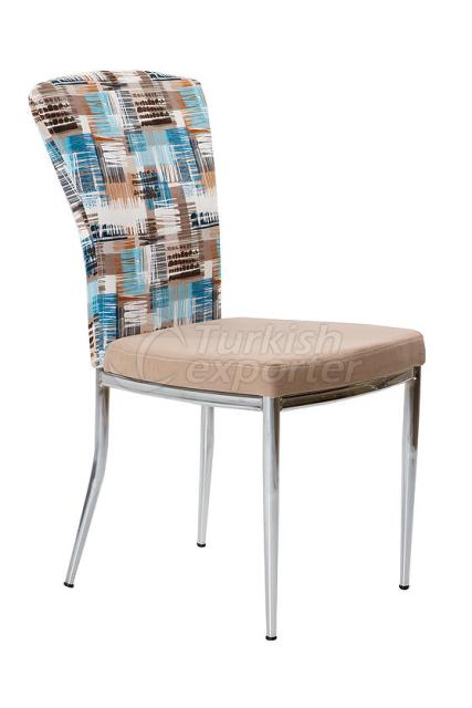 Single Chairs Blue Stripe