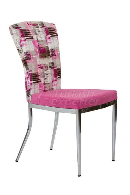 Single Chairs Pink Flower
