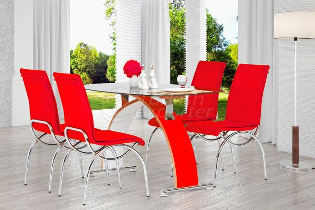 Table Sets Red