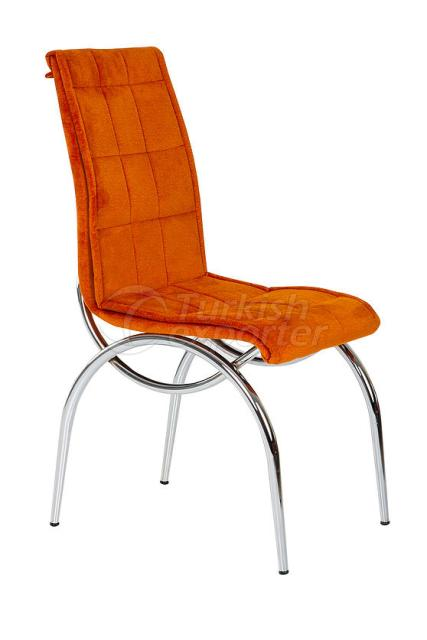 Single Chairs Orange