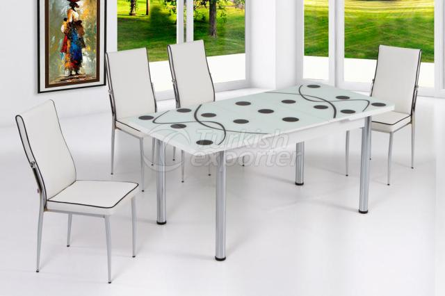 Table Sets White Black