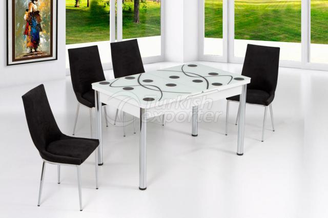 Table Sets White Black