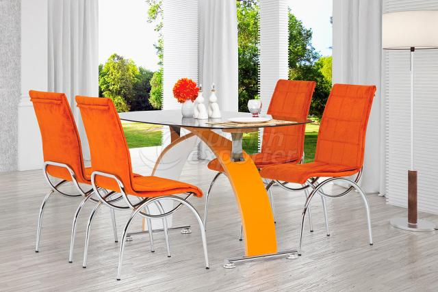 Table Sets Orange