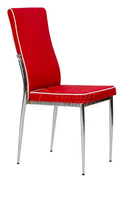 Single Chairs Corded Red