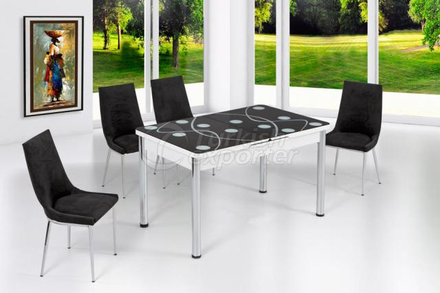 Table Sets Black White
