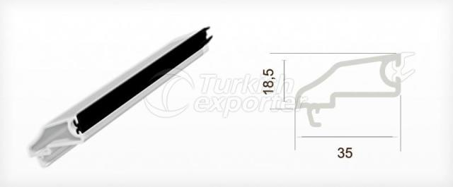 Single Glazing Bead Profile