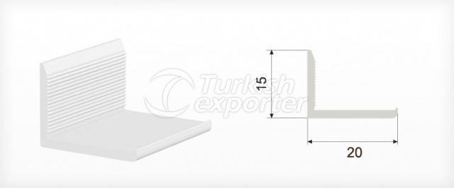 15x20 Corner Profile