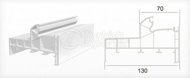 Frame Profile with Sill
