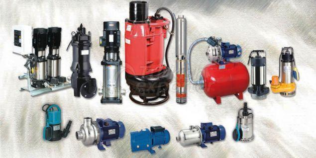 Submersible Pumps, Boosters