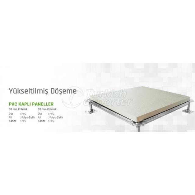 Raised Flooring PVC Covered Panel
