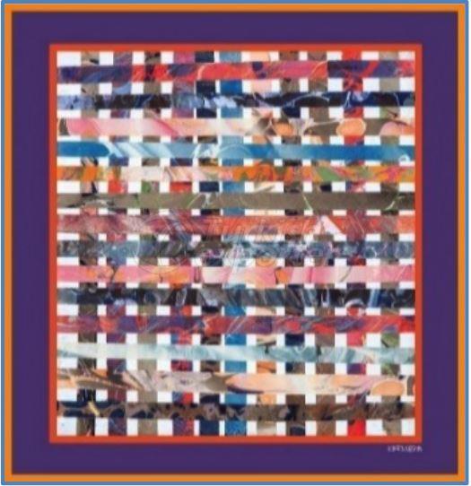 Silk-Cotton Voile Foulard 027