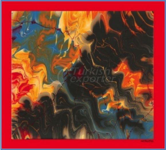 Twill-Silk Scarves 014