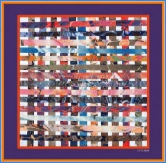 Twill-Silk Scarves 008