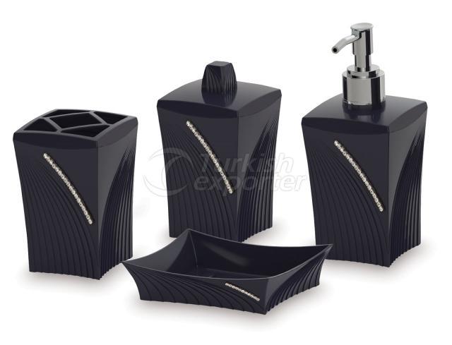 Diva Black Bathroom Sets