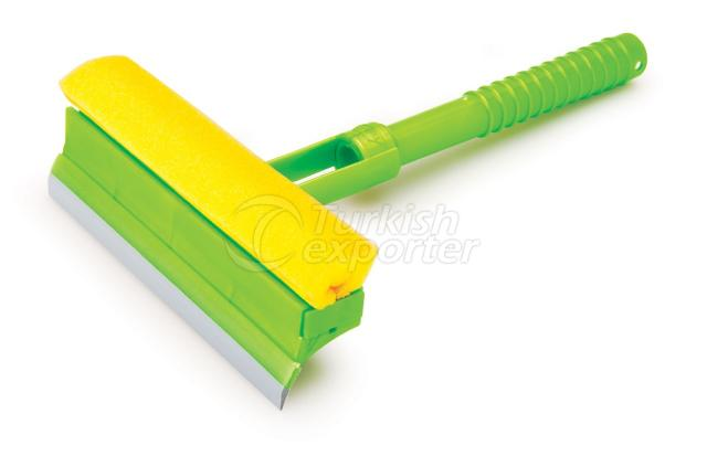 Glass Cleaner With Broom F007